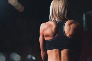 ryggskott träning