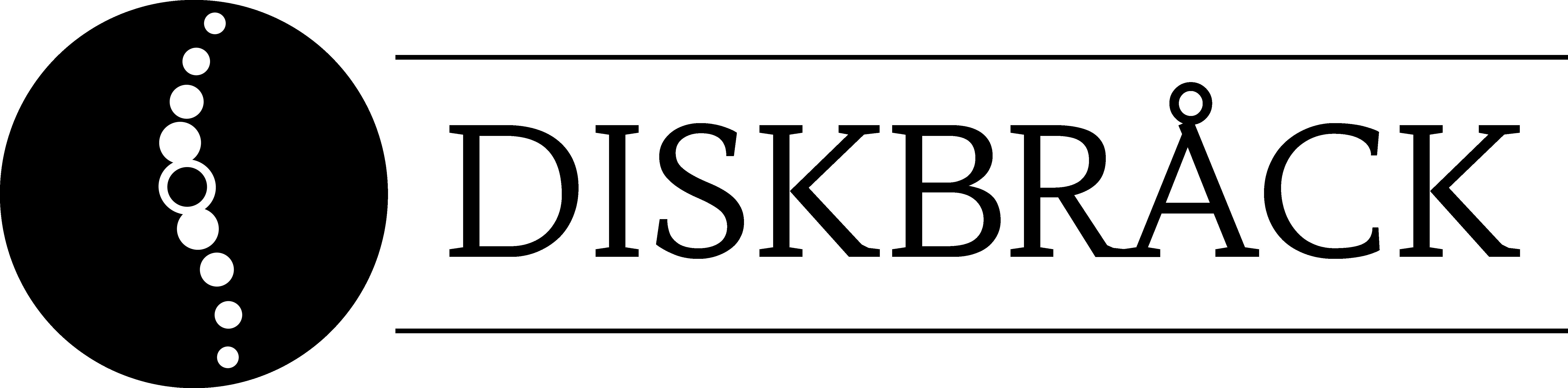Diskbråck